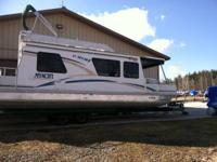 1999 36' Myacht Houseboat 2002 Yamaha 25HP Four Stroke