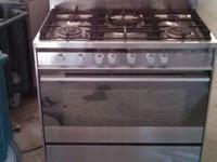 "Fisher & Paykel 36"" S/S Range with Convection Oven, Wok"