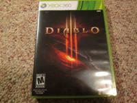 Selling some 360 game's as follows:  Brand New Diablo 3