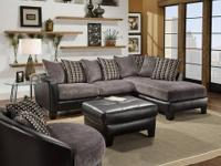 Encore 360 Sectional * Covered in genuine bonded