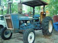 one owner ford 3600 tractor with 2300 hours with roll
