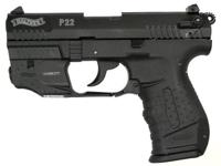 Brand New in Box Walther P22 w / Laser Pistol. The.22