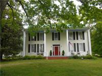 HISTORIC BEAUTY ON 4.86 BEAUTIFUL ACRES. HOME HAS SEEN