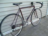 Attractive condition high-quality bike.Burgandy paint