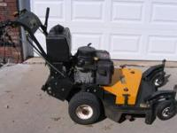 "I have a 36"" CUB CADET COMMERCIAL MOWER for sale. Model"