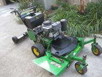 "I have a 36"" John Deere GS45 Commercial walk be-hind"