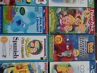 36 VHS VIEDOS ASKING $30 FOR ALL IF YOU ARE INTERESTED