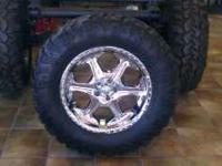 We have a set of 5 36x13.50x20 Super Swampers on 20""