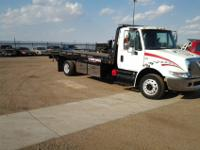 #1252006 International 4300 21ft steel Miller