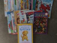 37 early reader books and 1 with 5 stories. Mostly