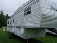 "THIS IS A 2006  ""DREAM"" CAMPER  3 AXLE,  37 FOOT,"