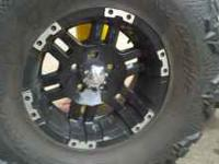 I have a set of 37/13.50R17 Nitto Mudd Grapplers, two