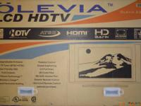"This is a brand new 37"" OLEVIA LCD flat screen HDTV."