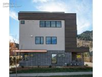 Boulder living at its best! This new build town home is