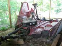 3710 Bush Hog mower with right wing. In very good