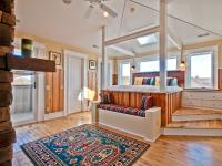 Extraordinary custom home in Bay Vista with bay views.