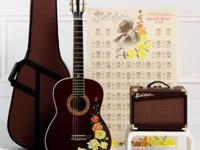 GUITAR, amp and case..included is another set of