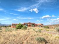 Breathtaking views abound in this one-of-a-kind Abiquiu