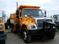 2004 I-H 7400 tandem axle with a 13' box and hoist with