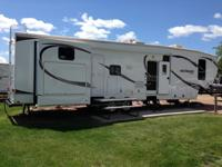 A quad slide bunkhouse fifth wheel, comes with pleanty