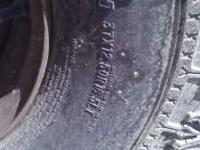 super swamper tsl 37x12x16.5 rim included 8 lug rimes