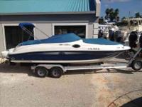 2007 Sea Ray 240 SUNDECK Full service records available