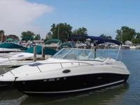 2006 Sea Ray 240 SUNDANCER Freshwater Only Boat With