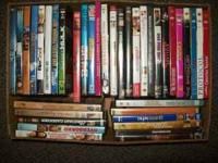 I have 38 DVDs all for 50.00 Call or Text  Christmas