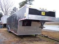 38' enclosed-5th wheel-Haulmark car trailer - 3 axle,