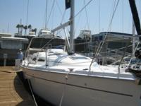 Description The Hunter 38 was designed as an