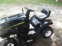 "38"" Poulan Riding Mower (great condition)... $500.00"
