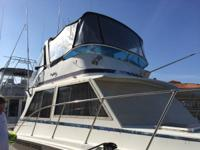 Boat is located in Huntington Harbor. Call or email to