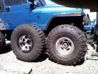 "38"" x15 Super Swampers 80% Tread Cash or trade for guns"