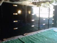 WE HAVE 04 BLACK 600 SERIES LATERAL FILE CABINETS WITH