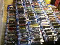 386 hotwheels and 26 other brands new in box from 90's