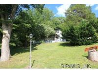 Private, wooded 2.5 acres nestled in the bluffs. Large