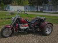 Selling my Boss Hoss style v8 trike. This bike is built