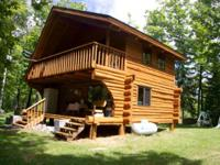 320 ACRES WITH LOG CABIN-NORTHERN MINNESOTA. Secluded