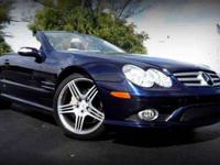 This 2007 Mercedes-Benz SL-Class 2dr SL550 2dr Roadster