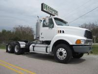2005 Sterling LT-9500 Tandem Axle Daycab, C-15 CAT