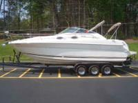 2001 Sea Ray 270 SUNDANCER New to the market. 2001 Sea