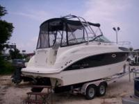 26' Bayliner 265 SunBridge 150 Hours/ 3 Year Extended