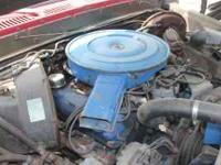 FORD 390 COMPLETE ENGINE WITH APROX. 15,OOO MILES ON