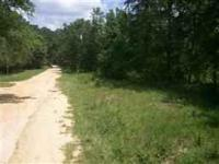 Nice high and dry lot, area is known for private