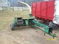 I have a nice JD chopper with 1 narrow and 1 wide head