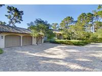 Extensive views of The Lodge, Pebble Beach Golf Course,
