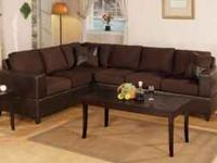 BRAND NEW 2 PIECE MICORIFBER SECTIONAL SOFAS ...$399