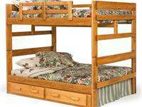 Full over Full Bunkbed Solid Wood Instock Brand NEW