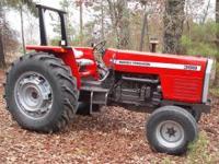 1988 Massey Ferguson 399 farm tractor. 6cylinder