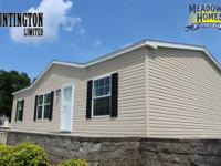 The Huntington  This brand new 3 br 2 bath double wide